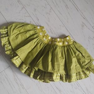 Persnickety Green Lilly Skirt
